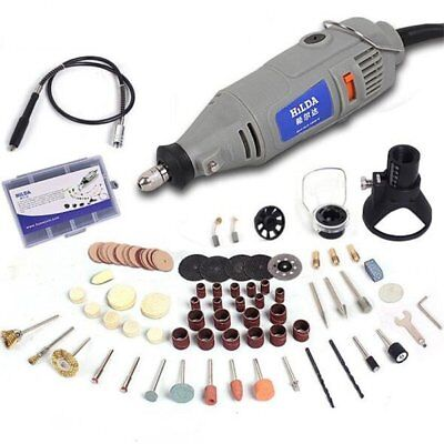 HILDA 220V 150W with 91pcs Accessories Electric Rotary Tool Variable Speed Mini