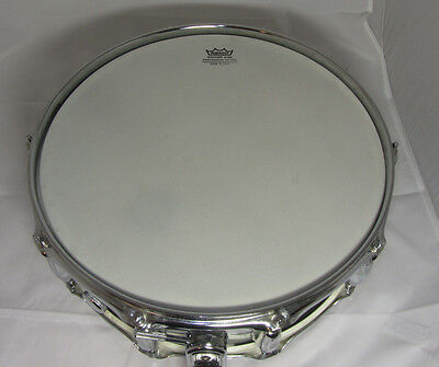 "VINTAGE 1971 Star Swingstar Chrome 14"" Snare Drum Black & Gold Label Pre-Tama"