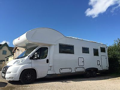 6 Berth Motorhome Available For hire.