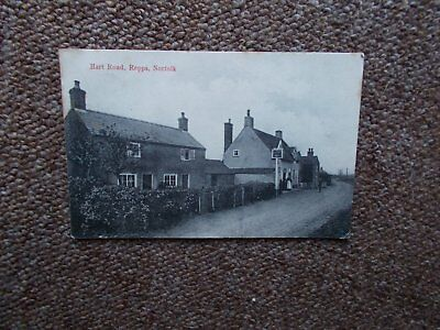 1910 P/c - Hart Road -Repps -Norfolk- Used And Stamped Posted 1910