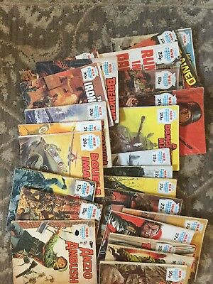 War Picture Library Books x 24