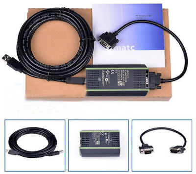 PLC Cable for Siemens S7 200/300/400 Adapter RS485 Profibus/MPI/PPI+ PC USB-PPI