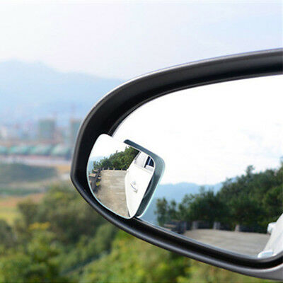 1 Pair Car Auto Wide Angle Side Rearview Adjustable Blind Spot Mirror Smart