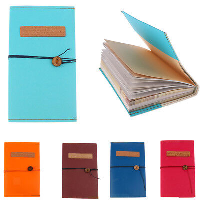 Vintage Retro Style Journal Travel Paper Notebook Memo Book Diary Sketchbook