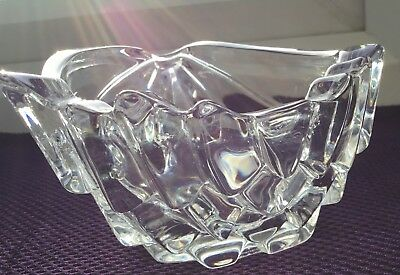MARQUIS by WATERFORD Crystal Conch Half Shell Bowl