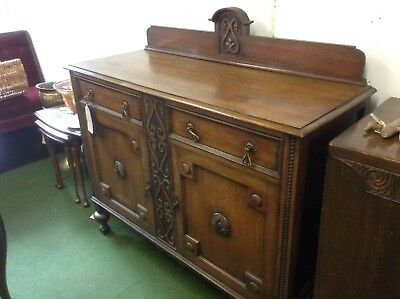 Antique Arts & Crafts Sideboard C.1910