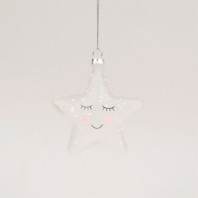 Sass & Belle Sweet Dreams Speckled Star Bauble