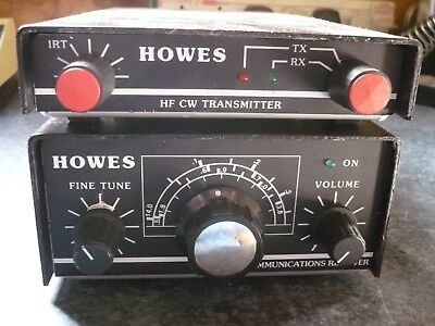 Howes 40 Mtr Transmitter And Matching Receiver.