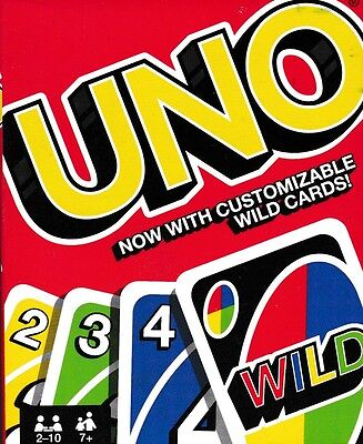 Uno Card Game. Latest Version. (New, Boxed, Sealed)