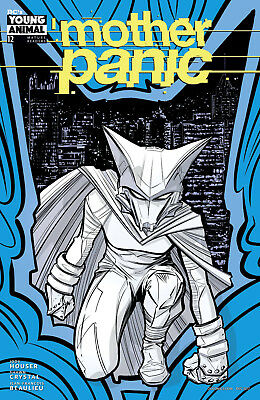 Mother Panic #12 (2017) 1St Printing Dc Young Animal Variant Cover