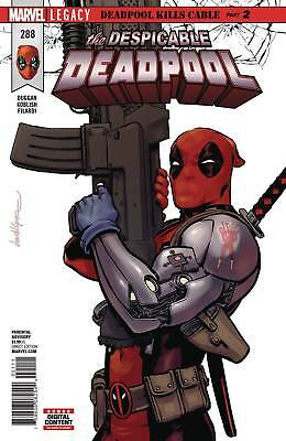 Despicable Deadpool #288 (2017) 1St Print Bagged & Baorded Marvel Legacy Tie-In