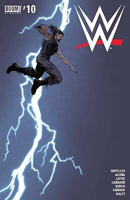 Wwe #10 (2017) 1St Printing Main Cover Bagged & Boarded Boom Studios