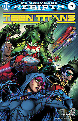 Teen Titans #13 (2017) 1St Print Variant Cover Dc Universe Rebirth