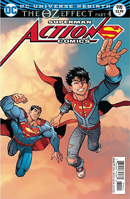 Action Comics #990 (2016) 1St Printing Lenticular Variant Cvr Superman Oz Effect