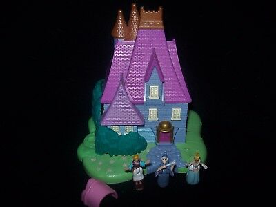 EUC 100% Complete Disney Polly Pocket  Cinderella Stepmothers House 1995