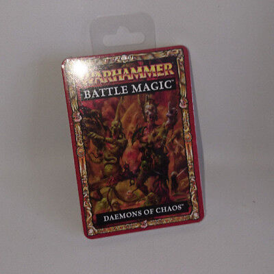Warhammer 8th Edition Battle Magic Spell Cards - Daemons of Chaos
