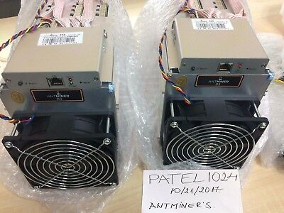 4X BRAND NEW Bitmain Antminer D3, 15GH/s - Dash Miner - October Batch in STOCK