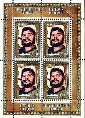 Chechenia 2010 2 Sheets Famous People Che Guevara
