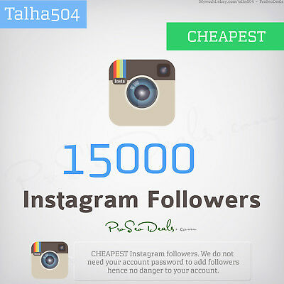 15,000 Instagram CHEAP/Followers 24 Hr Delivery