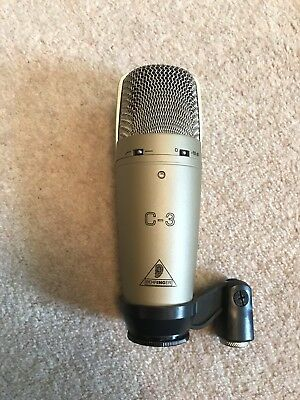 Behringer C3 Condenser Microphone With Carry Case