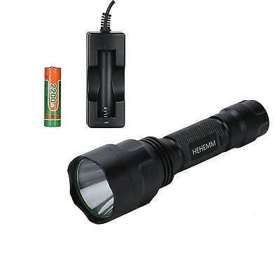 1800 Lumen Flashlight Torch for Riding, Camping, Hiking, Hunting