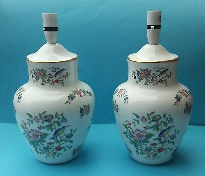 Pair Pretty Aynsley Pembroke Large Table Lamps