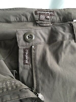 Ladies Craghoppers trousers 14R Green