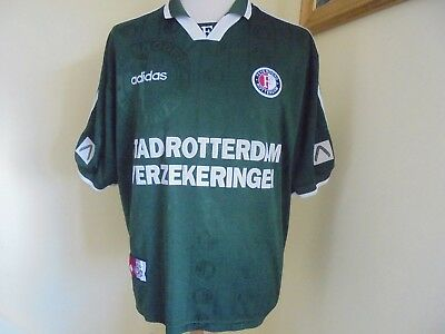 1997 - 1999 Feyenoord Away Shirt, Adults XL VGC Adidas