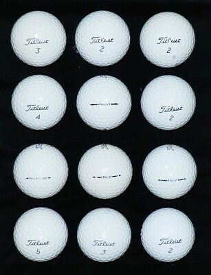 12***** PEARL/AAAA ***** Titleist PRO V1 Golf Balls * NOT lake balls *