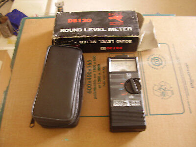 Eagle Y Db120 Sound Level Meter With Case