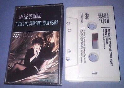 MARIE OSMOND THERE'S NO STOPPING YOUR HEART cassette tape album T4495
