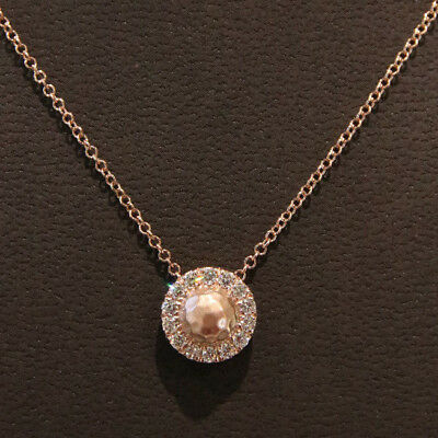 Gabriel Diamond Circle Pave Pendant - NEW - NK4962K45JJ