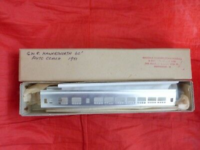 WESTDALE COACHES SCALE MODEL – GWR HAWKESWORTH 60FT AUTO COACH 1951 KIT - boxed