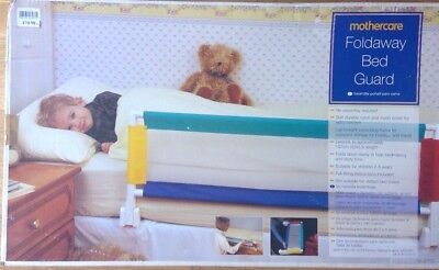 Mothercare Foldaway Bed Guard Brand New In A Box Baby Toddler Children Sleeping