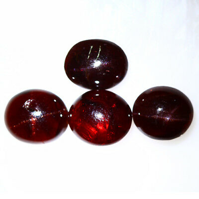 18.130 Ct Exclusive Brilliant! 100% Natural Top Red Garnet Star Unheated Cab !!!