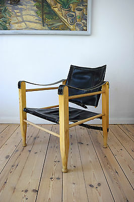 Danish Mid-Century Safari Chair