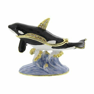 WHALE Trinket Box / Ornament Gift *NEW* Boxed