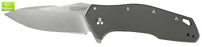 Kershaw Eris Utility Pocket Knife with Drop-Point Blade SpeedSafe Assisted Openi