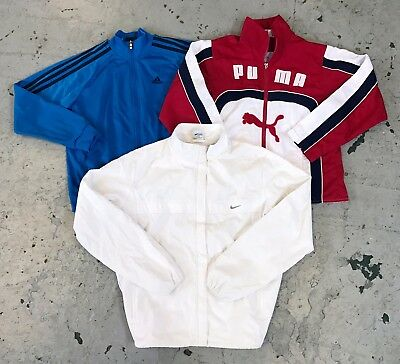 WHOLESALE 75 x SPORTS BRANDED TRACK TOPS & SWEATERS ADIDAS CHAMPION NIKE
