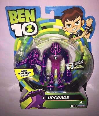 BEN 10 UPGRADE with UPGRADED DRONE 4 INCH ACTION FIGURE  *NEW 2017 RELEASE*