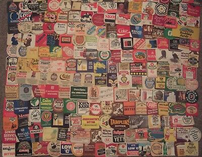 200 Different Beer Mats