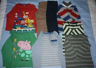3-4 years boys' clothes bundle incl, NEW waterproof trousers