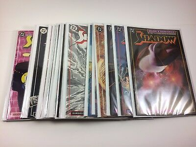 The Shadow 1987 Comic Series #1-19 + Annuals 1-2 Complete Series Full Run NM