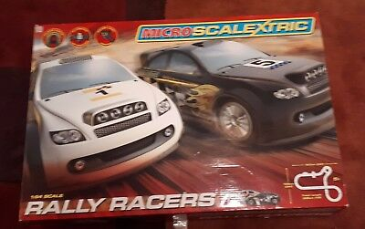 Micro Scalextric Rally Racers  New