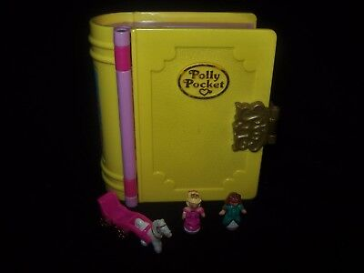 EUC 100% Complete Polly Pocket  Princess Palace 1995