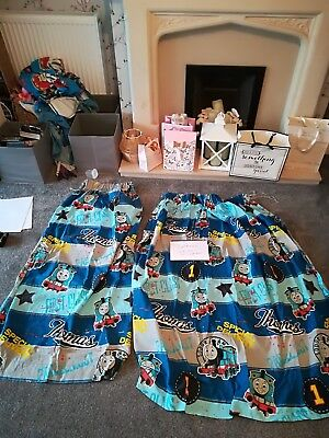 Thomas's the tank engine curtains 52 inch drop