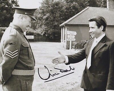 Jim Dale Signed 8X10 Photo - Carry On - Rare!!! H175