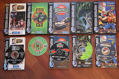 Job Lot Of Sega Saturn Games.
