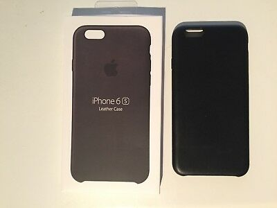 Apple iPhone 6/6s Black leather case