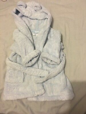 The White Company Baby Boys Dressing Gown Robe 0-6 Months Worn Once